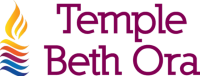 Logo for Temple Beth Ora