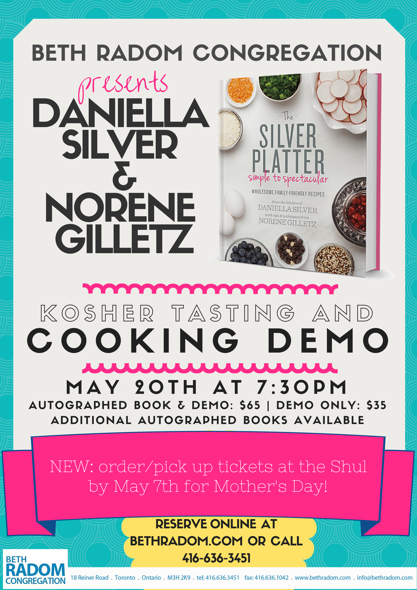 Silver Platter Cooking Demo and Tasting