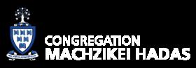 Logo for Congregation Machzikei Hadas