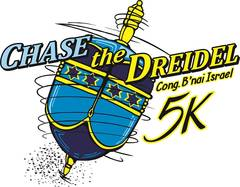 Chase the Dreidel 5K Logo