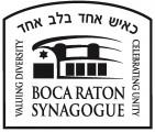 Logo for Boca Raton Synagogue