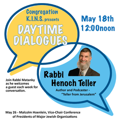 Daytime Dialogues with Rabbi Hanoch Teller
