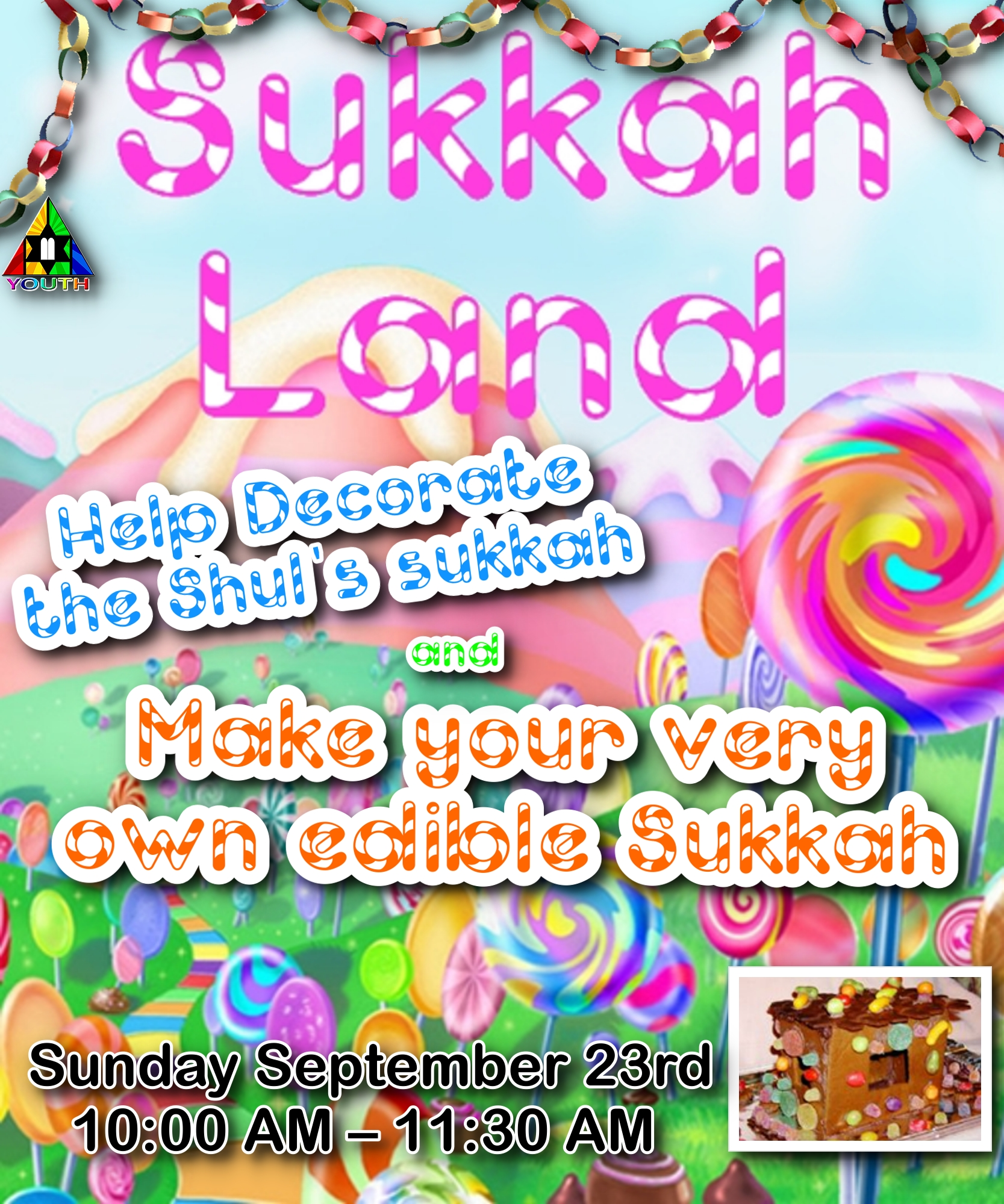 Erev Sukkot Decorating the Shul Sukkah - Event - Young Israel of
