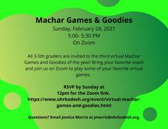 Banner Image for Machar Games and Goodies