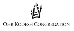 Logo for Ohr Kodesh Congregation
