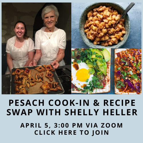 Pesach cooking with Shelly Heller