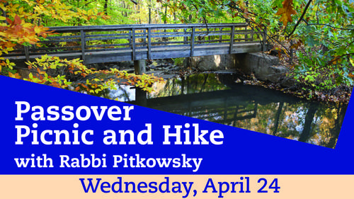 Banner Image for Passover Picnic and Hike