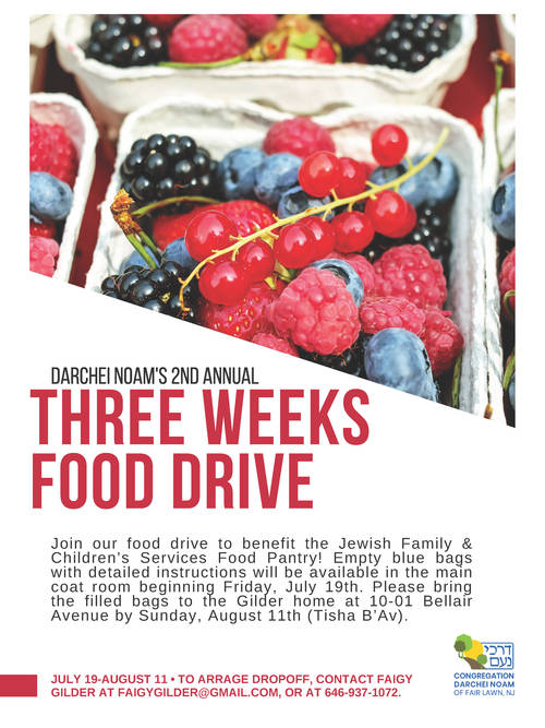 Banner Image for 2nd Annual Three Weeks Food Drive
