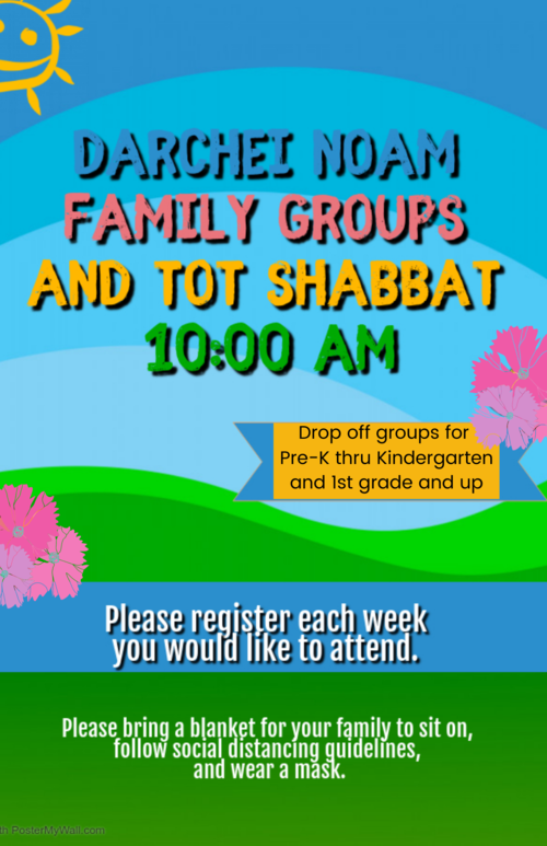 Banner Image for Family Groups and Tot Shabbat
