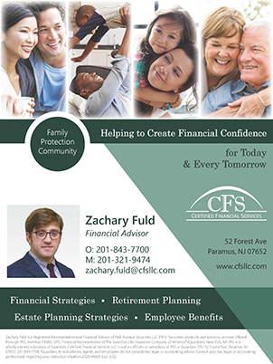 Certified Financial Services</h2>  business card