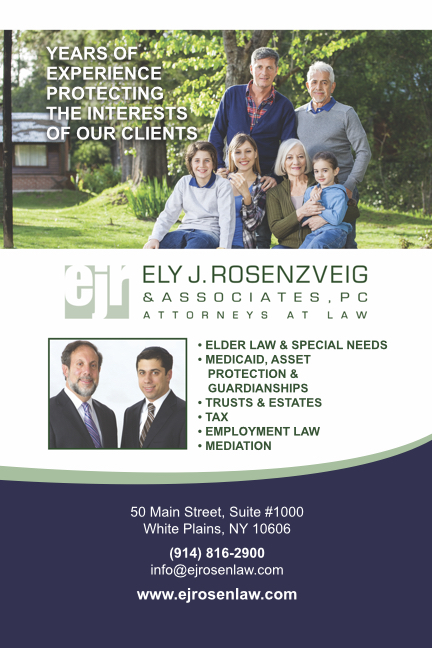 Ely J. Rosenzveig & Associates, PC  business card