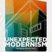 """Banner Image for World Premiere of """"Unexpected Modernism: Wiener Brothers Story"""" at the Strand Theatre 4/2/2020"""