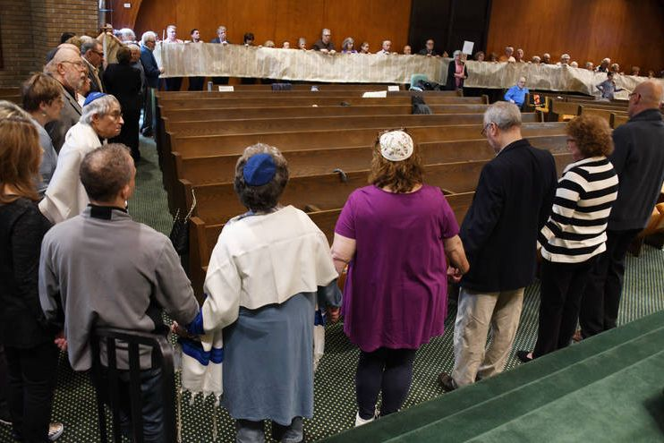 "<a href=""/worship/our-holocaust-torah""