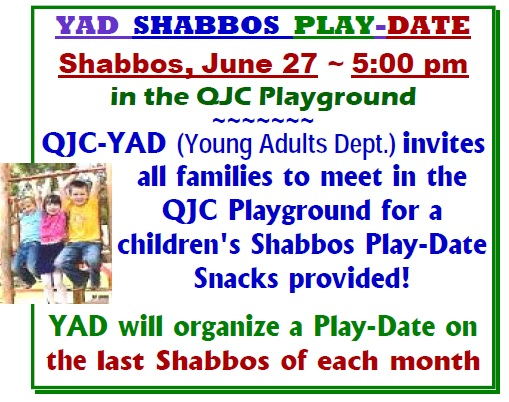 YAD Play-Date in the QJC Playground