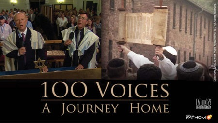 """Banner Image for 100 Voices: A Journey Home - An """"Academy Nominated"""" unique film presentation hosted by Cantors Joel Lichterman & Randy Herman"""