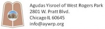 Logo for Agudas Yisroel of West Rogers Park