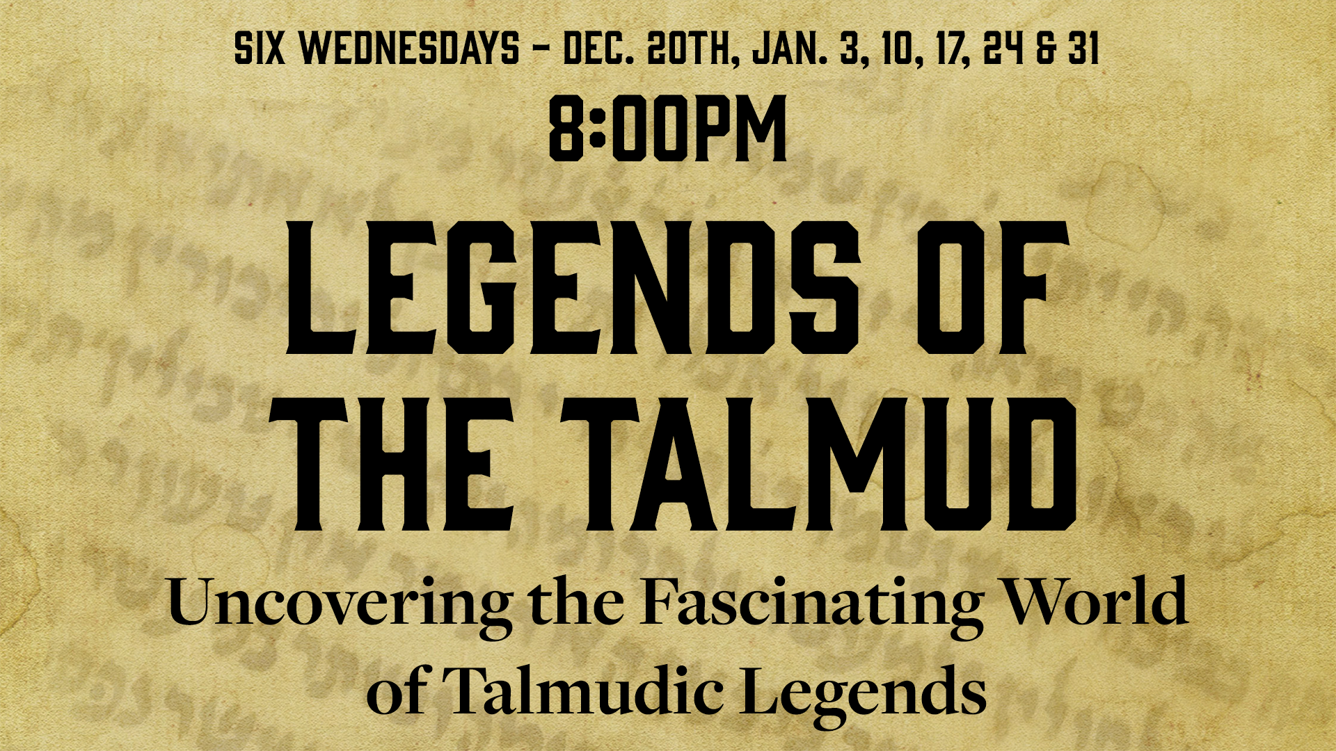 Legends of the Talmud