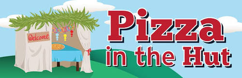 Banner Image for Pizza in the Hut - Sukkot 2020