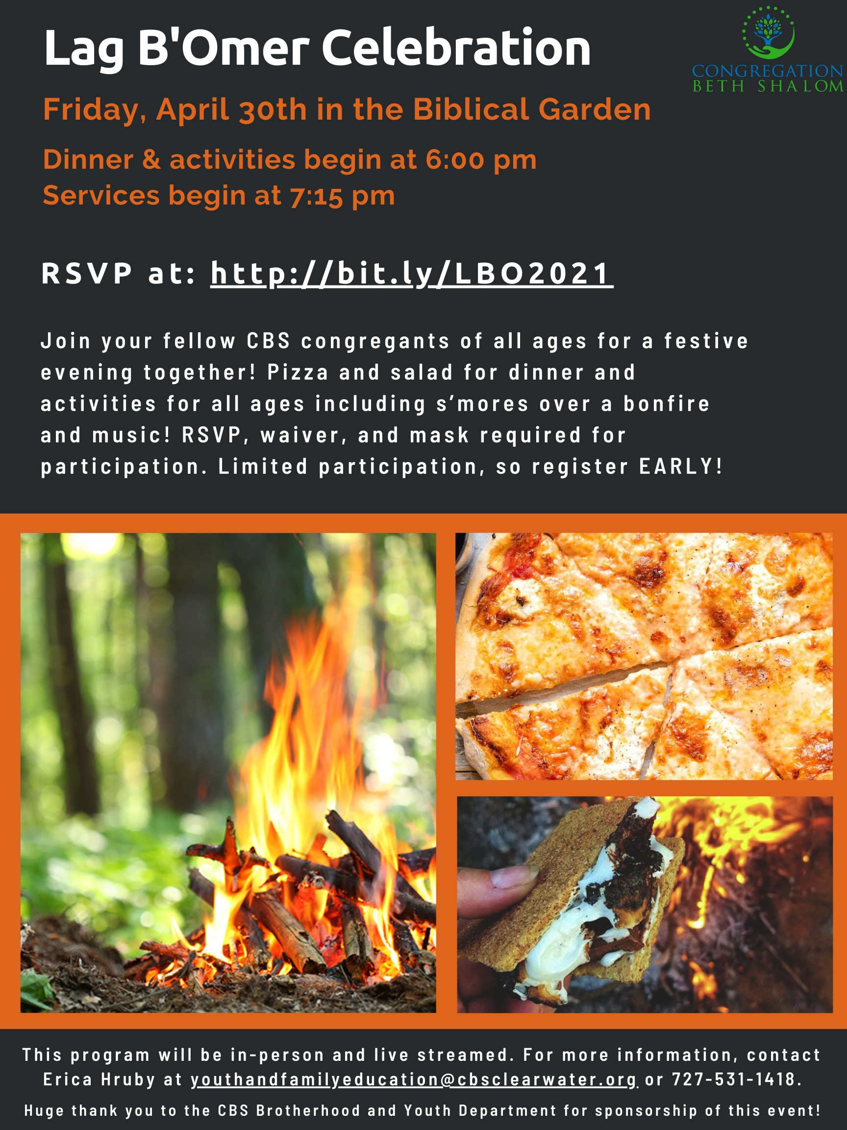 """</a>                                                                                                                                                                                       <span class=""""slider_description"""">Lag B'Omer Celebration! Space is LIMITED!!</span>                                                                                     <a href=""""https://www.cbsclearwater.org/event/lag-bomer-dinner-and-service-.html"""" class=""""slider_link""""                             target=""""_blank"""">                             Register NOW!                            </a>"""
