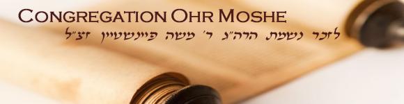 Logo for Congregation Ohr Moshe