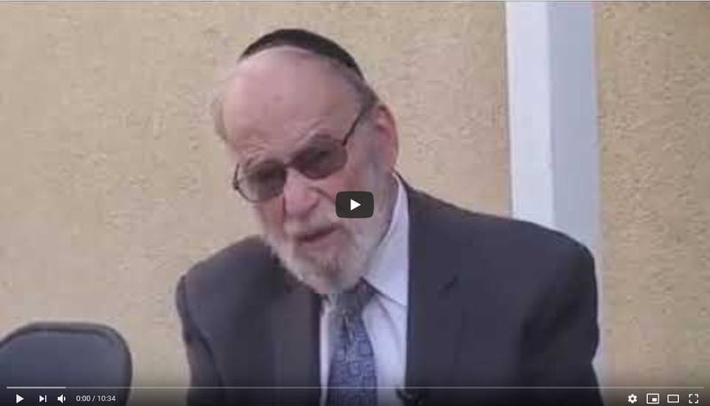 "Rabbi Hollander on Shelach 5780: ""It's All in How You See It"""