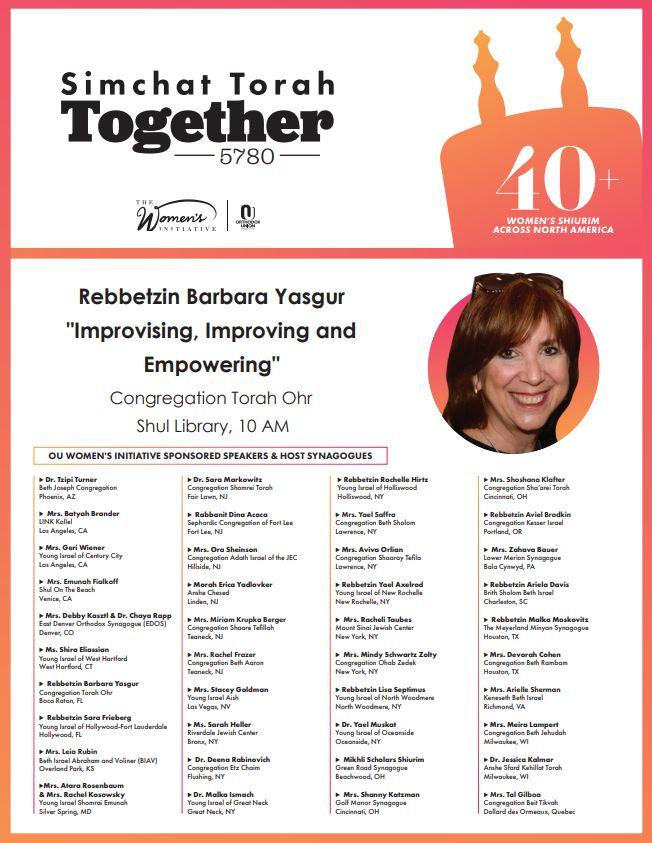 "<a href=""https://images.shulcloud.com/590/uploads/5780/Holiday/BarbaraYasgurTorahOhrBoca.pdf""                                     target=""_blank"">                                                                 <span class=""slider_title"">                                     Women's Simchat Torah Learning                                </span>                                                                 </a>"