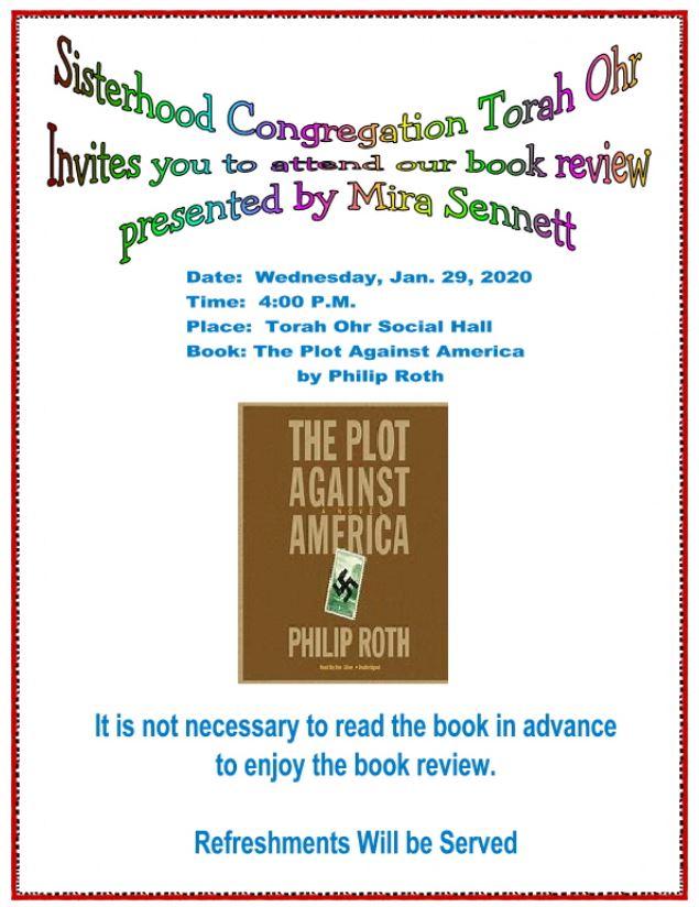 "<a href=""https://images.shulcloud.com/590/uploads/5780/Sisterhood/2020-01-29BookReviewThePlotAgainstAmerica1.PDF""                                     target=""_blank"">                                                                 <span class=""slider_title"">                                     Book Review - The Plot Against America - 1/29/2020                                </span>                                                                 </a>"