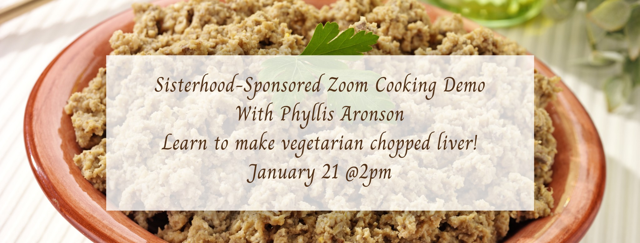 """<a href=""""https://www.templebethel.com/event/cooking-demo-meatless-chopped-liver.html""""                                     target=""""_blank"""">                                                                 <span class=""""slider_title"""">                                     Special Event                                </span>                                                                 </a>                                                                                                                                                                                      <a href=""""https://www.templebethel.com/event/cooking-demo-meatless-chopped-liver.html"""" class=""""slider_link""""                             target=""""_blank"""">                             More Information                            </a>"""