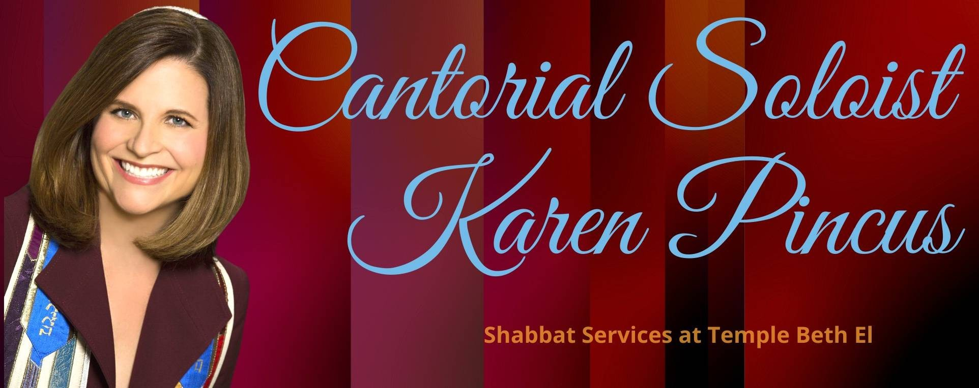 "<a href=""https://www.templebethel.com/event/erev-shabbat-services-guest-cantorial-soloist-karen-pincus-on-line--in-person.html""                                     target="""">                                                                 <span class=""slider_title"">                                     November 19th                                </span>                                                                 </a>                                                                                                                                                                                      <a href=""https://www.templebethel.com/event/erev-shabbat-services-guest-cantorial-soloist-karen-pincus-on-line--in-person.html"" class=""slider_link""                             target="""">                             More Information                            </a>"