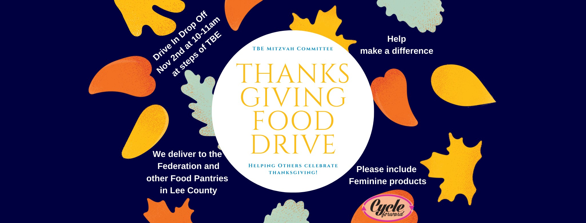 """<a href=""""https://www.templebethel.com/event/drive-in-drop-off-food-drive-and-cycle-forward-donations11.html""""                                     target="""""""">                                                                 <span class=""""slider_title"""">                                     November 2nd                                </span>                                                                 </a>                                                                                                                                                                                      <a href=""""https://www.templebethel.com/event/drive-in-drop-off-food-drive-and-cycle-forward-donations11.html"""" class=""""slider_link""""                             target="""""""">                             More Information                            </a>"""