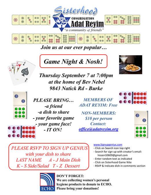 Chai Lights: Week of August 28th - September 3rd