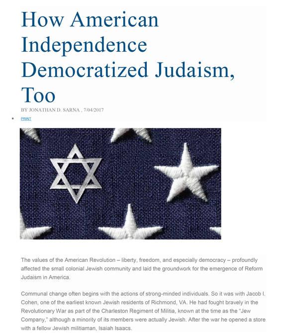Rabbi Aft's Blog - Congregation Adat Reyim