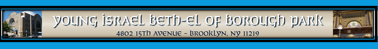 Logo for Young Israel Beth El of Borough Park
