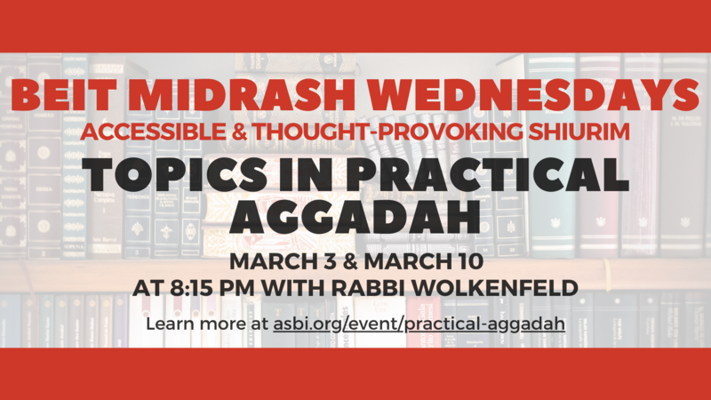 Banner Image for Topics in Practical Aggadah