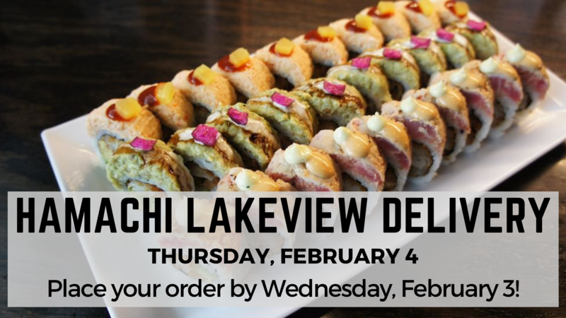Banner Image for Hamachi Lakeview Delivery