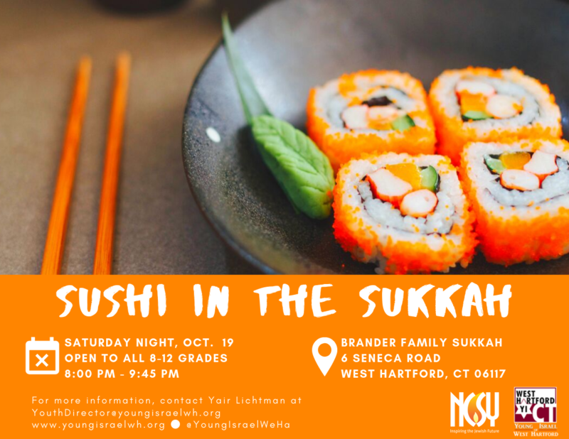 Banner Image for Sushi in the Sukkah