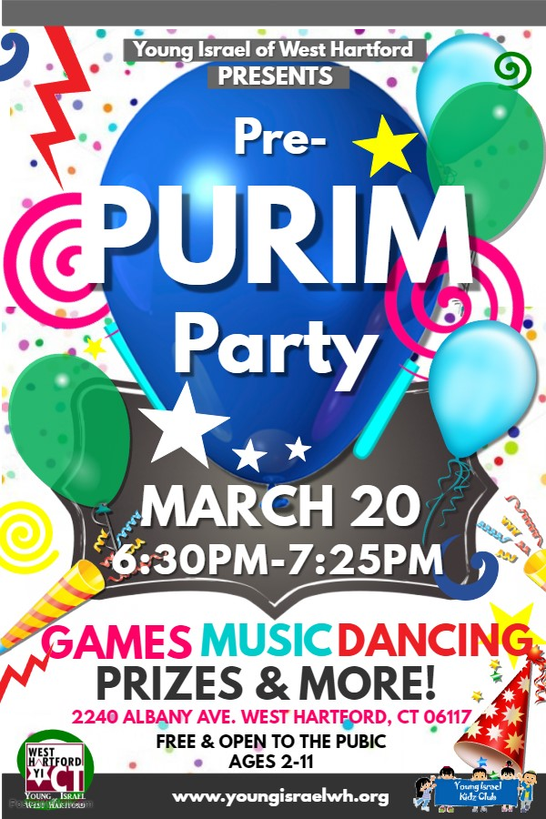 Banner Image for Pre-Purim Party