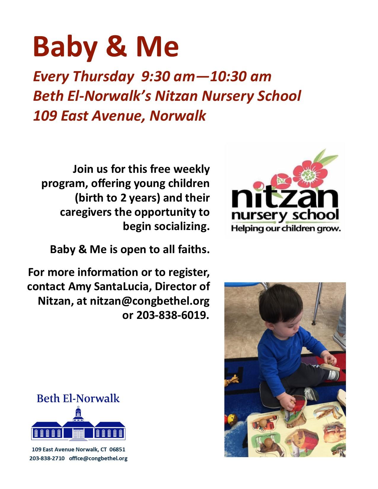 Nitzan Nursery School Congregation Beth El
