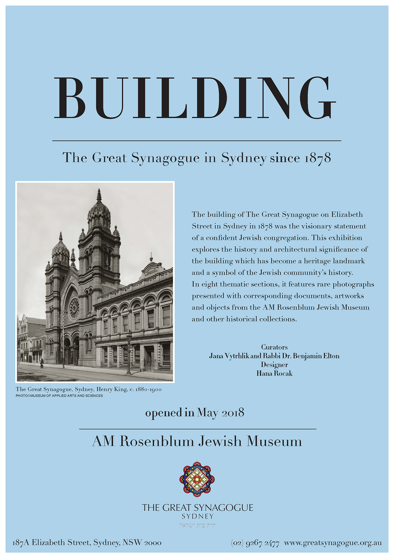 Our Collection - The Great Synagogue