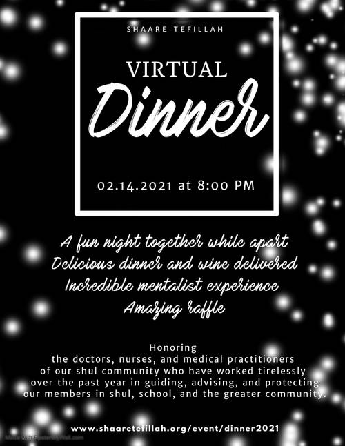 Banner Image for Virtual DINNER