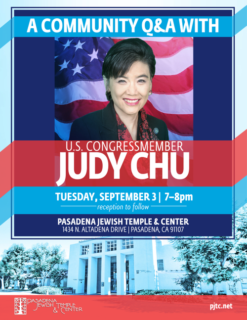 Banner Image for Congresswoman Judy Chu Community Q & A