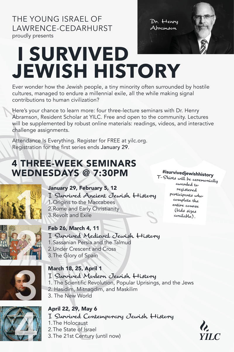 Banner Image for I Survived Jewish History