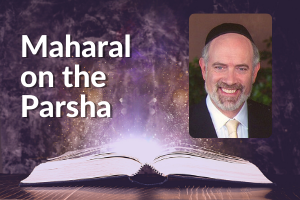 rabbi moshe teitelbaum, maharal on the parsha - image