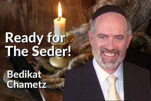 Ready for the Seder - start with bedikat Chametz - image