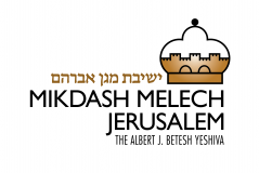 Logo for Mikdash Melech Jerusalem