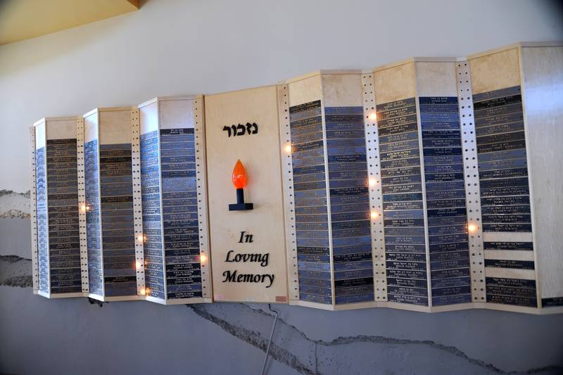 Ner Tamid synagogue architecture - Remembering loved ones