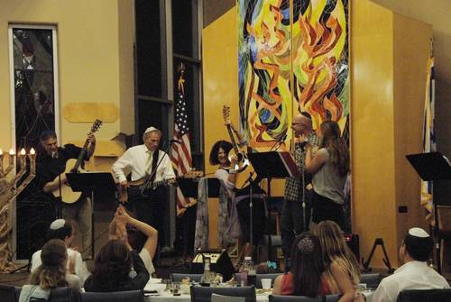 Ner Tamid performance at the Passover community seder