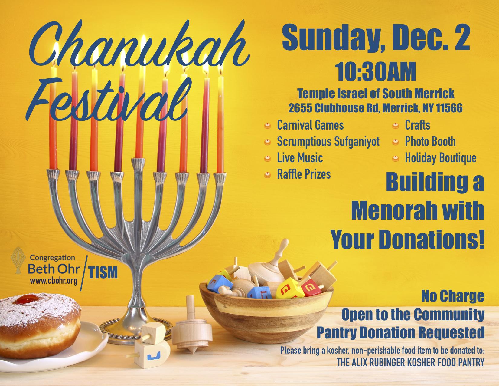 Chanukah Festival @TISM