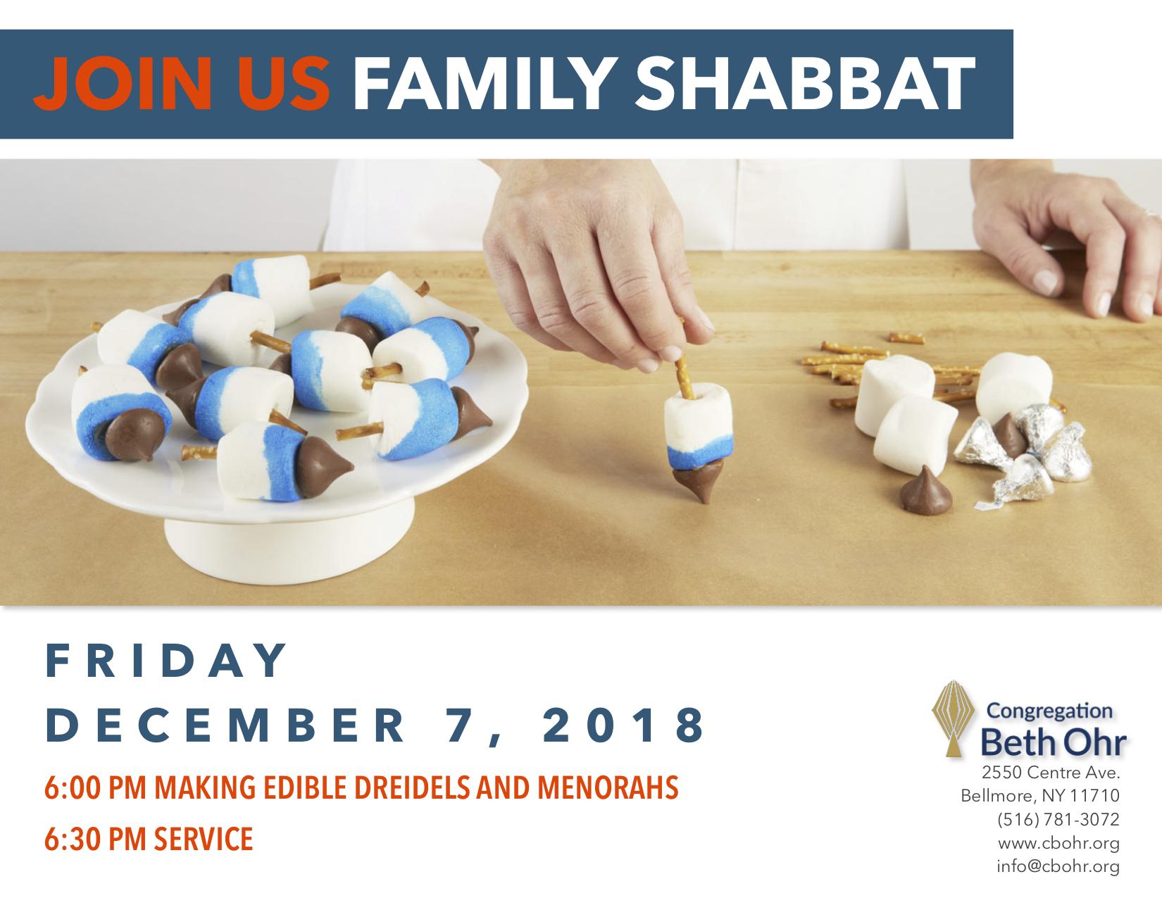 Family Shabbat