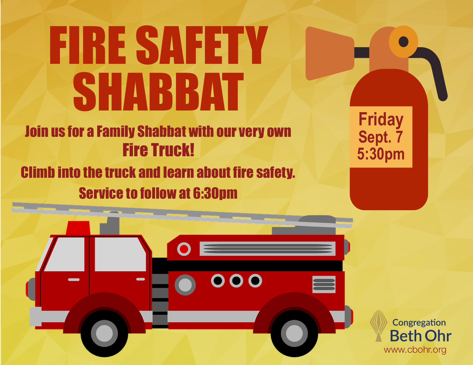 Fire Safety Shabbat